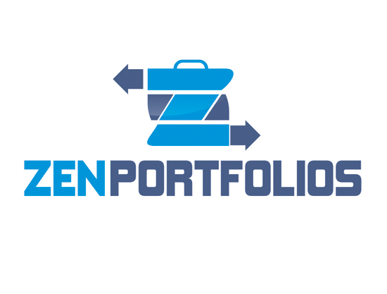 Logo Design by Private User - Entry No. 51 in the Logo Design Contest New Logo Design for ZEN Portfolios.