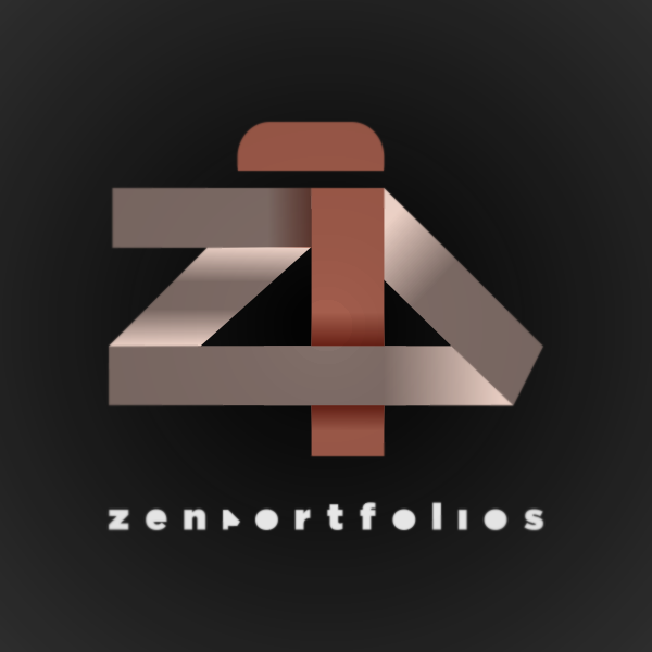 Logo Design by Private User - Entry No. 56 in the Logo Design Contest New Logo Design for ZEN Portfolios.