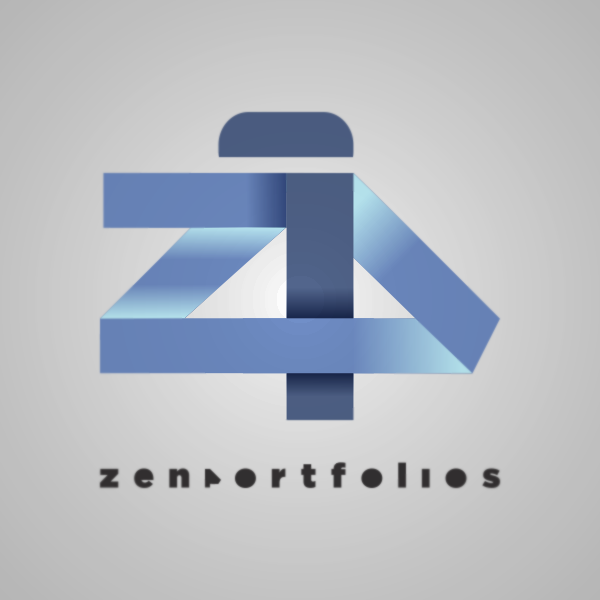 Logo Design by Private User - Entry No. 57 in the Logo Design Contest New Logo Design for ZEN Portfolios.