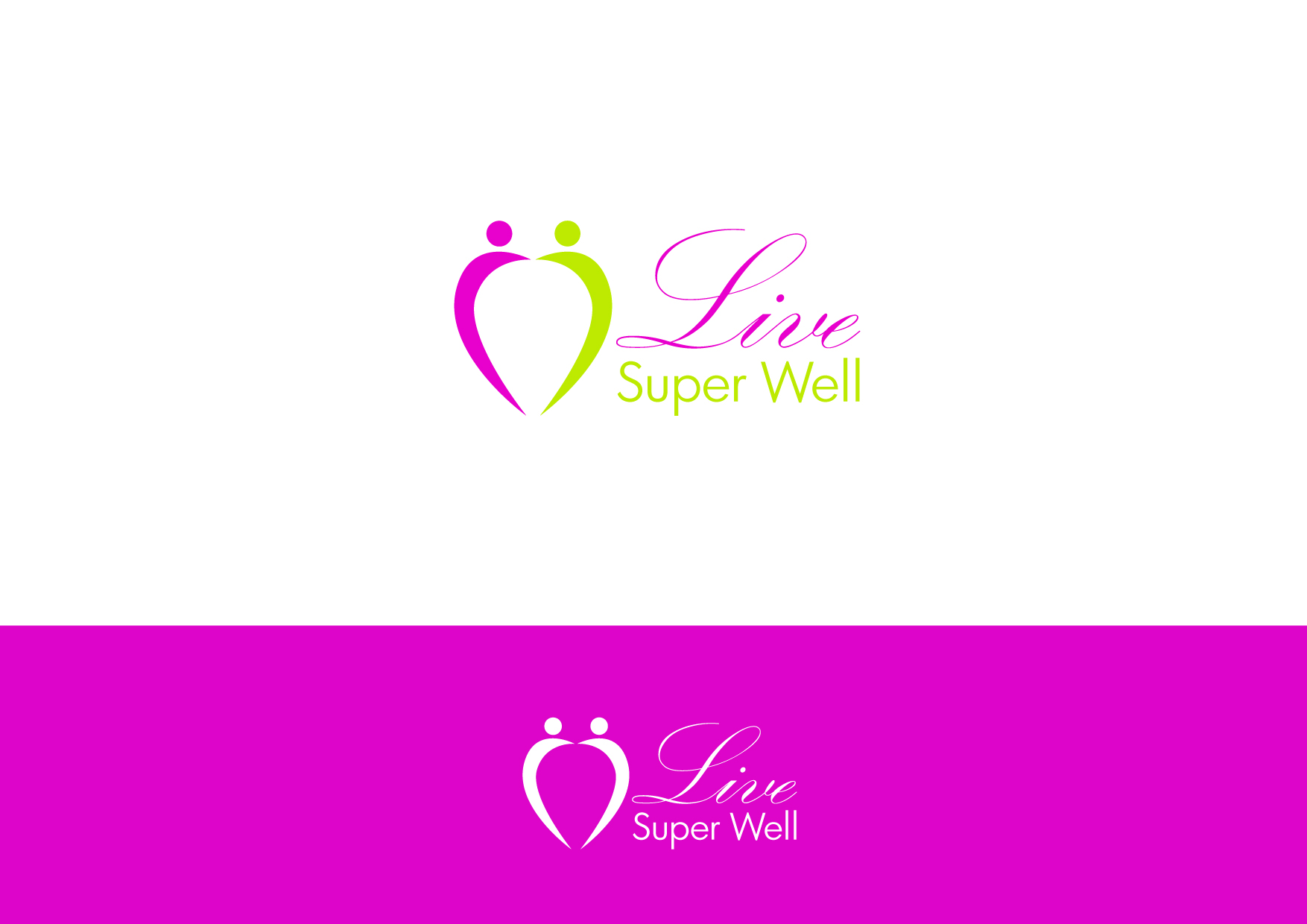 Logo Design by Osi Indra - Entry No. 42 in the Logo Design Contest Unique Logo Design Wanted for Live Super Well.