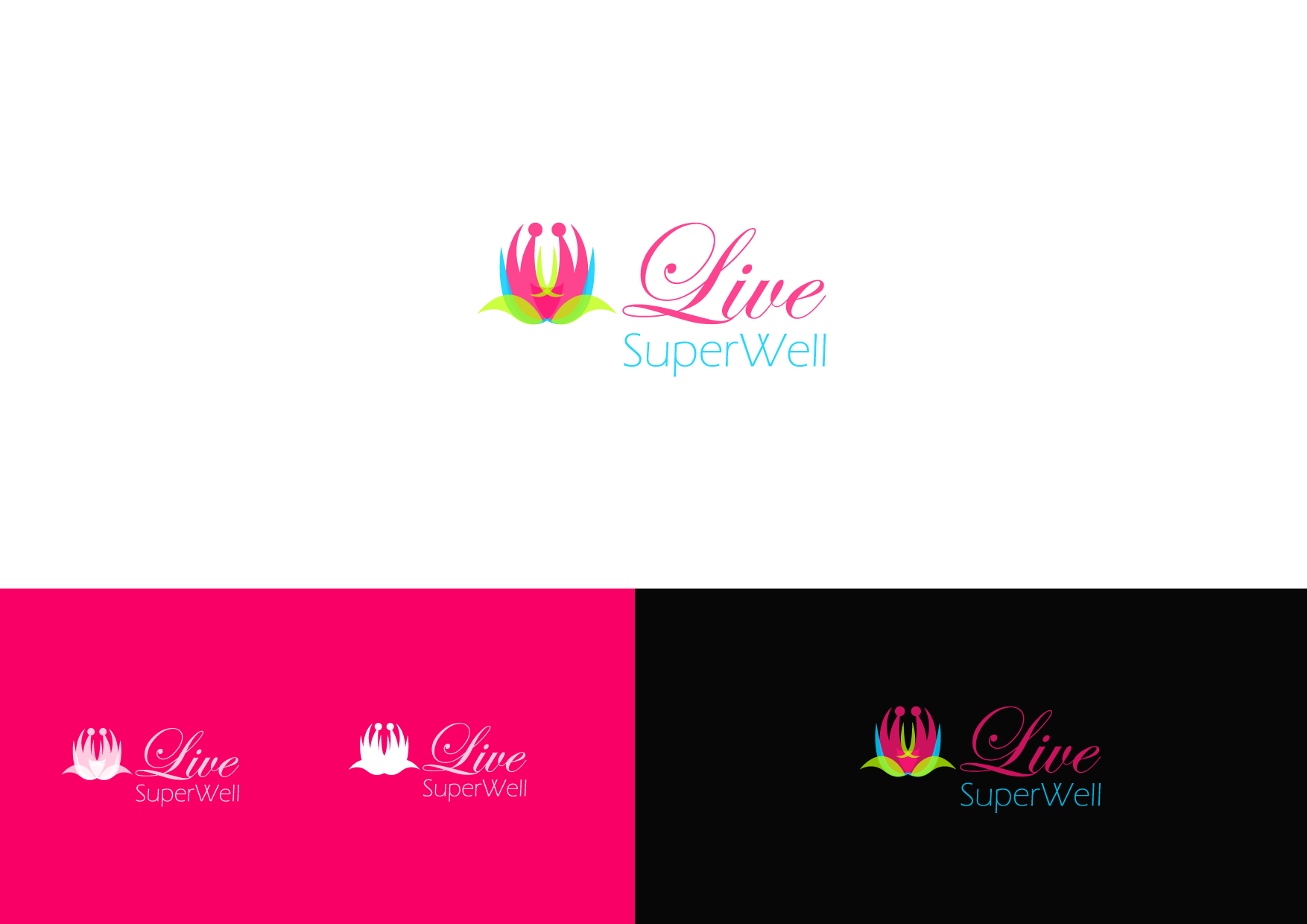 Logo Design by Osi Indra - Entry No. 43 in the Logo Design Contest Unique Logo Design Wanted for Live Super Well.