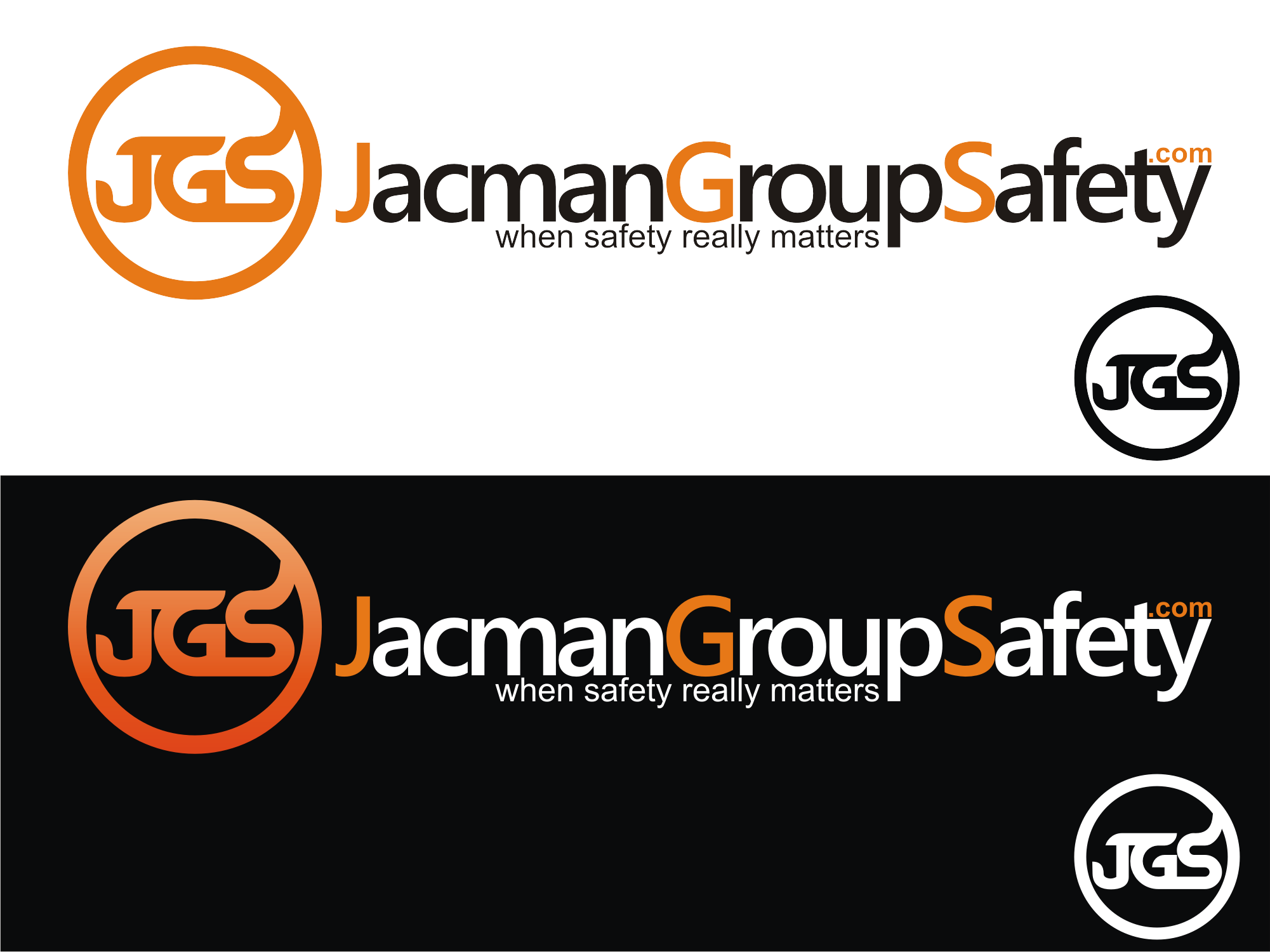 Logo Design by Private User - Entry No. 114 in the Logo Design Contest The Jacman Group Logo Design.