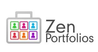 Logo Design by Roshan Maharjan - Entry No. 61 in the Logo Design Contest New Logo Design for ZEN Portfolios.
