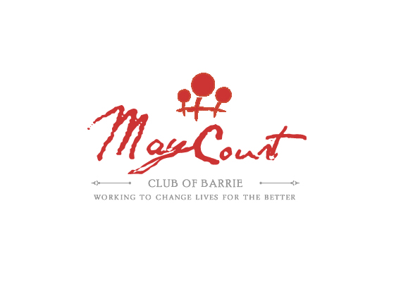 Logo Design by Private User - Entry No. 41 in the Logo Design Contest New Logo Design for MAY COURT CLUB OF BARRIE.