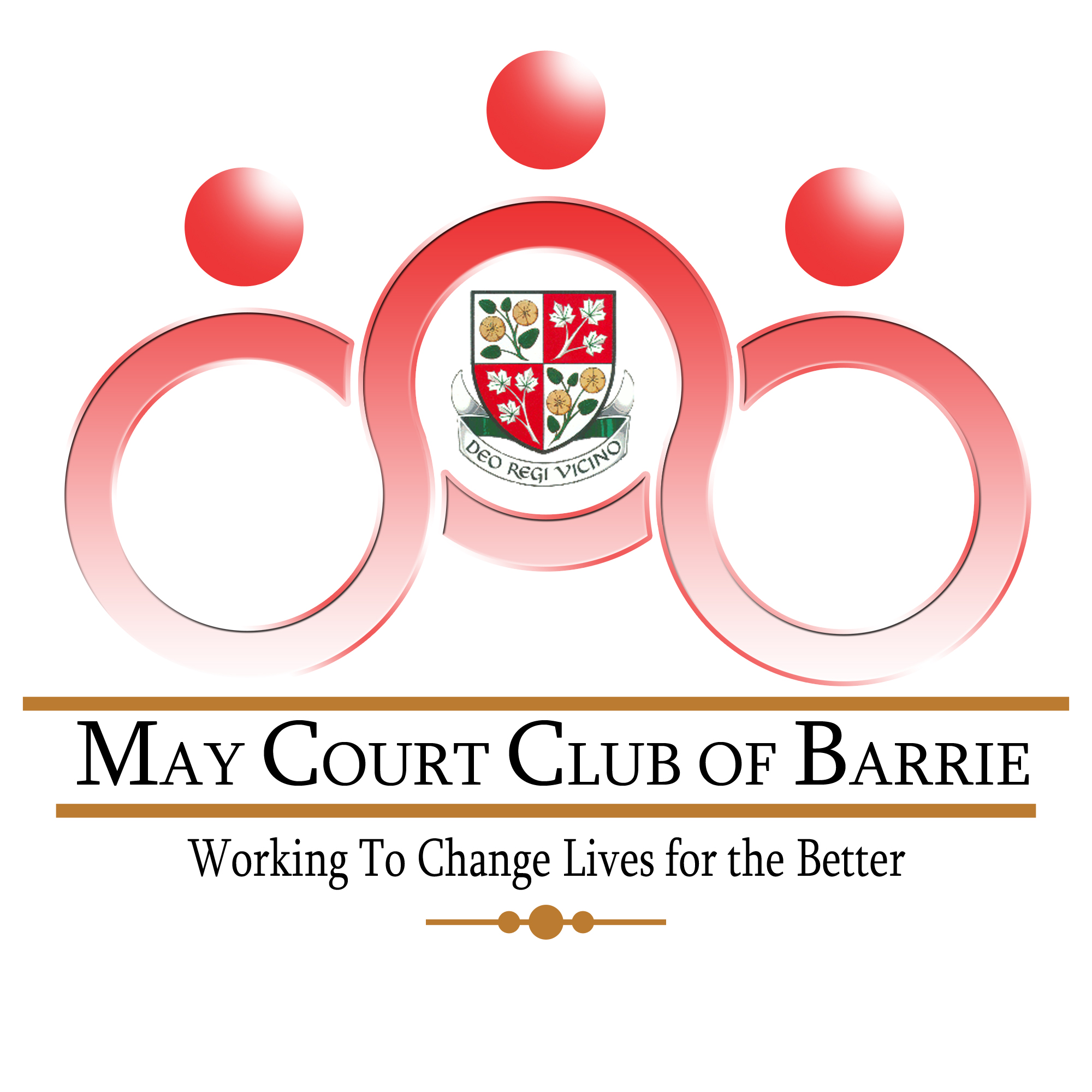 Logo Design by Ervin Beñez - Entry No. 42 in the Logo Design Contest New Logo Design for MAY COURT CLUB OF BARRIE.