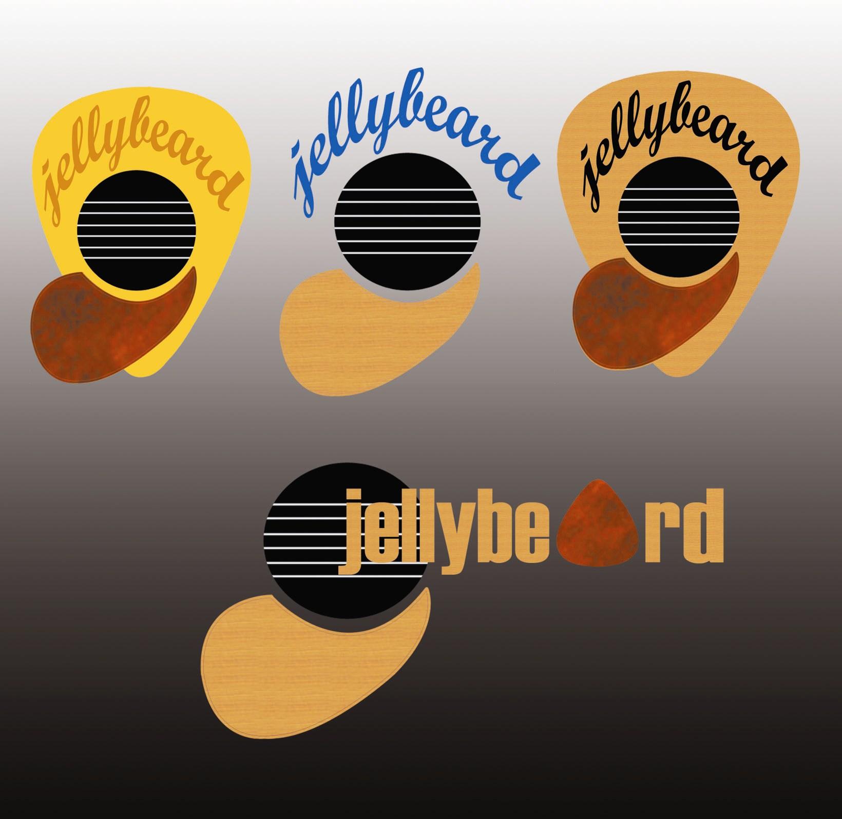 Logo Design by Arqui ACOSTA - Entry No. 12 in the Logo Design Contest jellybeard Logo Design.