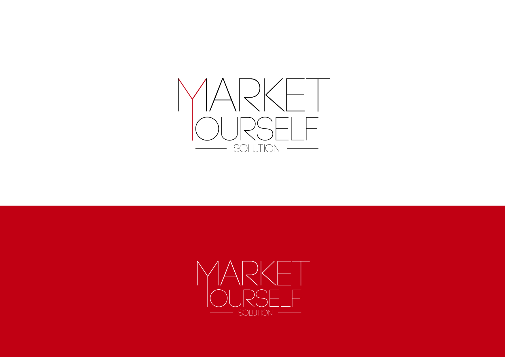 Logo Design by Osi Indra - Entry No. 85 in the Logo Design Contest Fun Logo Design for Market Yourself Solutions.