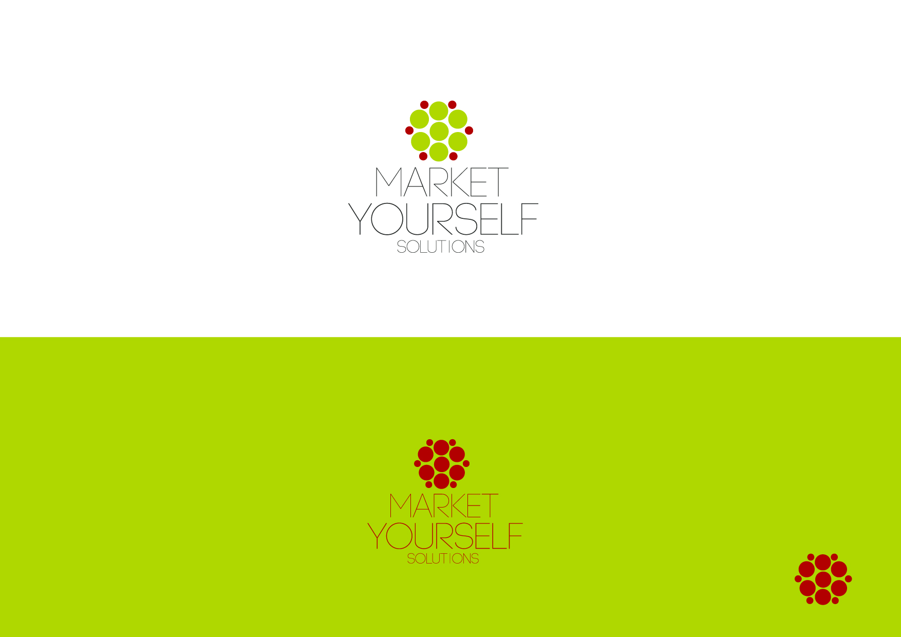Logo Design by Osi Indra - Entry No. 88 in the Logo Design Contest Fun Logo Design for Market Yourself Solutions.