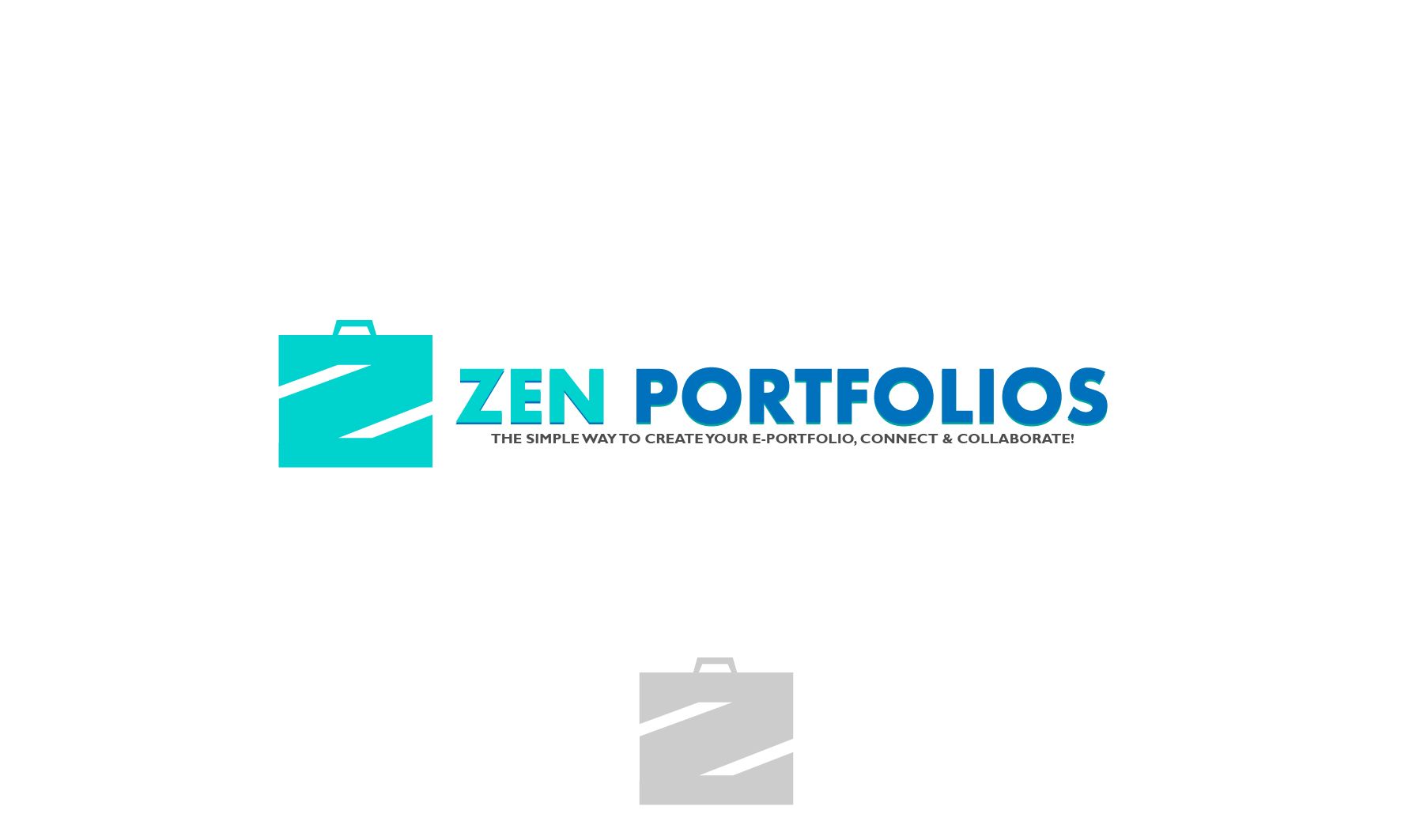 Logo Design by 3draw - Entry No. 68 in the Logo Design Contest New Logo Design for ZEN Portfolios.