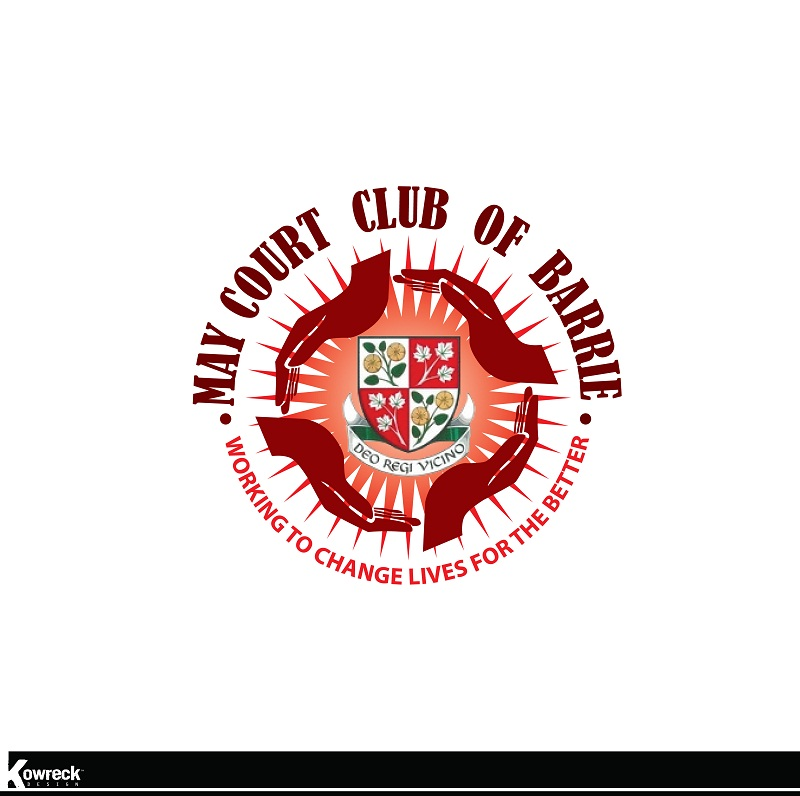 Logo Design by kowreck - Entry No. 54 in the Logo Design Contest New Logo Design for MAY COURT CLUB OF BARRIE.