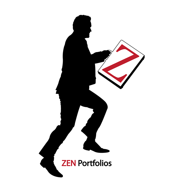 Logo Design by robken0174 - Entry No. 79 in the Logo Design Contest New Logo Design for ZEN Portfolios.