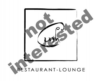 Logo Design by mercury-graphic-club - Entry No. 22 in the Logo Design Contest Cush Restaurant & Lounge Ltd..