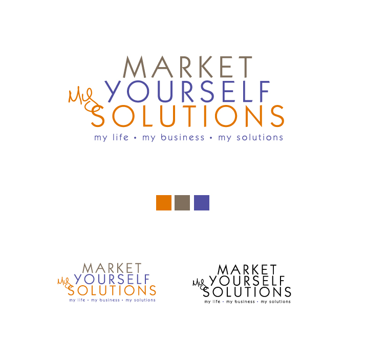Logo Design by elmd - Entry No. 97 in the Logo Design Contest Fun Logo Design for Market Yourself Solutions.