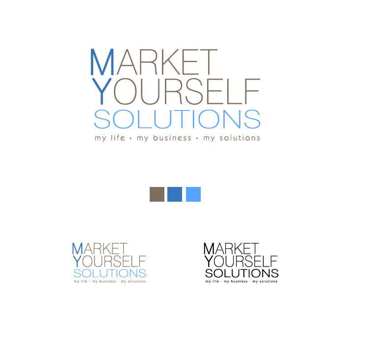 Logo Design by elmd - Entry No. 98 in the Logo Design Contest Fun Logo Design for Market Yourself Solutions.