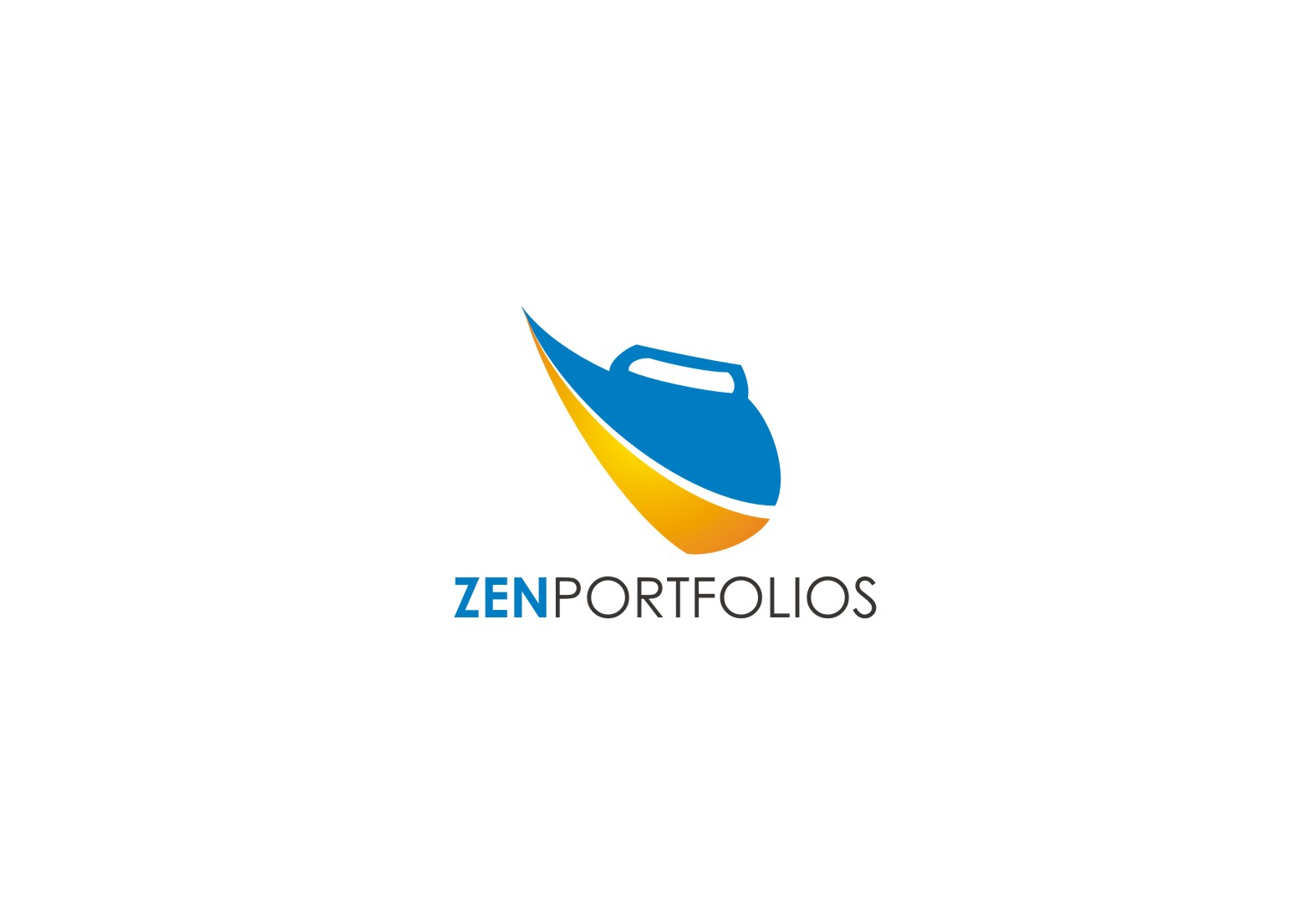 Logo Design by yanxsant - Entry No. 86 in the Logo Design Contest New Logo Design for ZEN Portfolios.