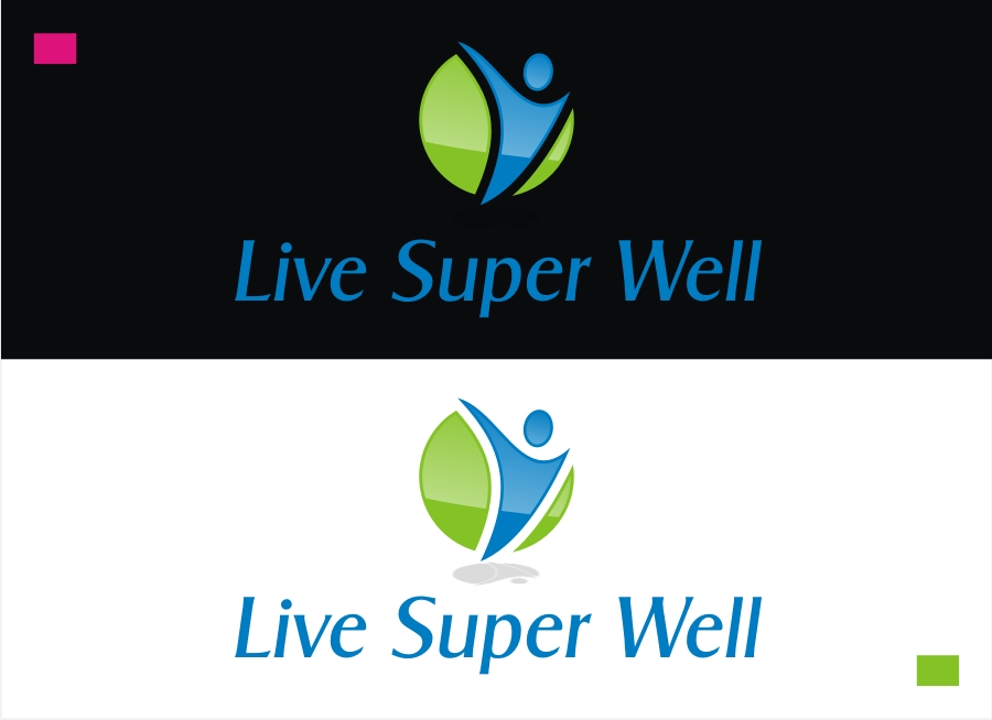 Logo Design by Private User - Entry No. 61 in the Logo Design Contest Unique Logo Design Wanted for Live Super Well.
