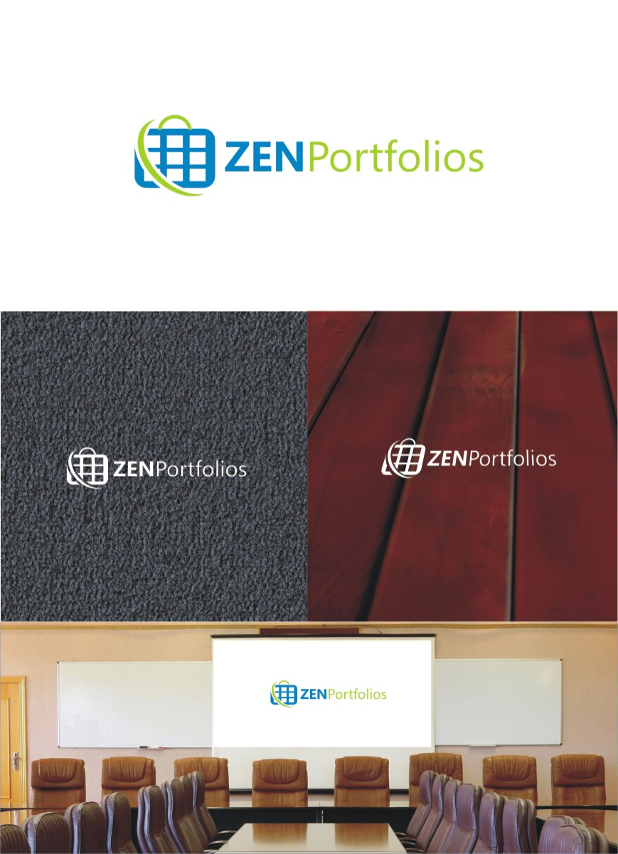 Logo Design by Private User - Entry No. 92 in the Logo Design Contest New Logo Design for ZEN Portfolios.