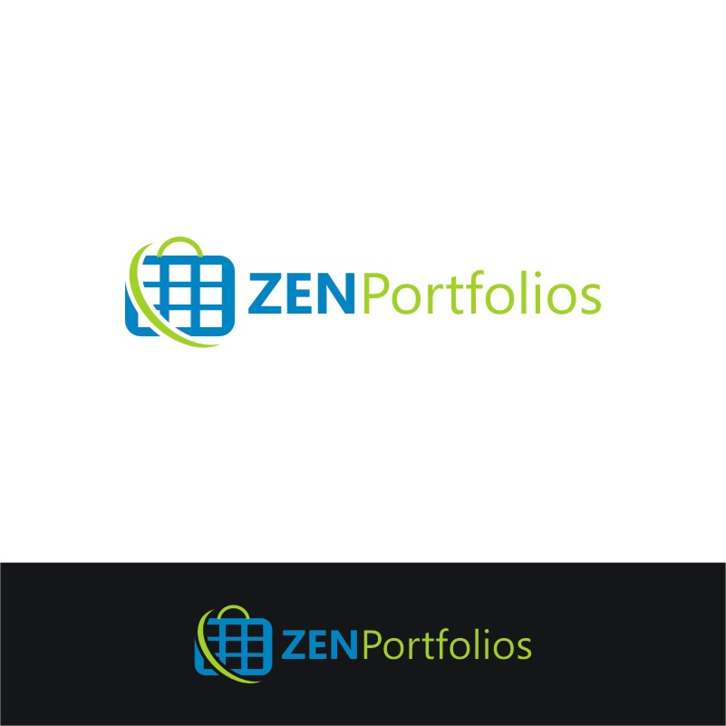 Logo Design by Private User - Entry No. 93 in the Logo Design Contest New Logo Design for ZEN Portfolios.