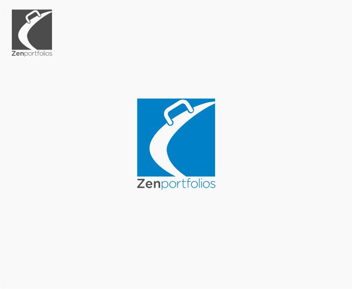 Logo Design by Muhammad Nasrul chasib - Entry No. 96 in the Logo Design Contest New Logo Design for ZEN Portfolios.