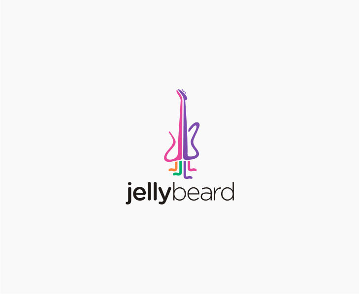 Logo Design by Muhammad Nasrul chasib - Entry No. 27 in the Logo Design Contest jellybeard Logo Design.