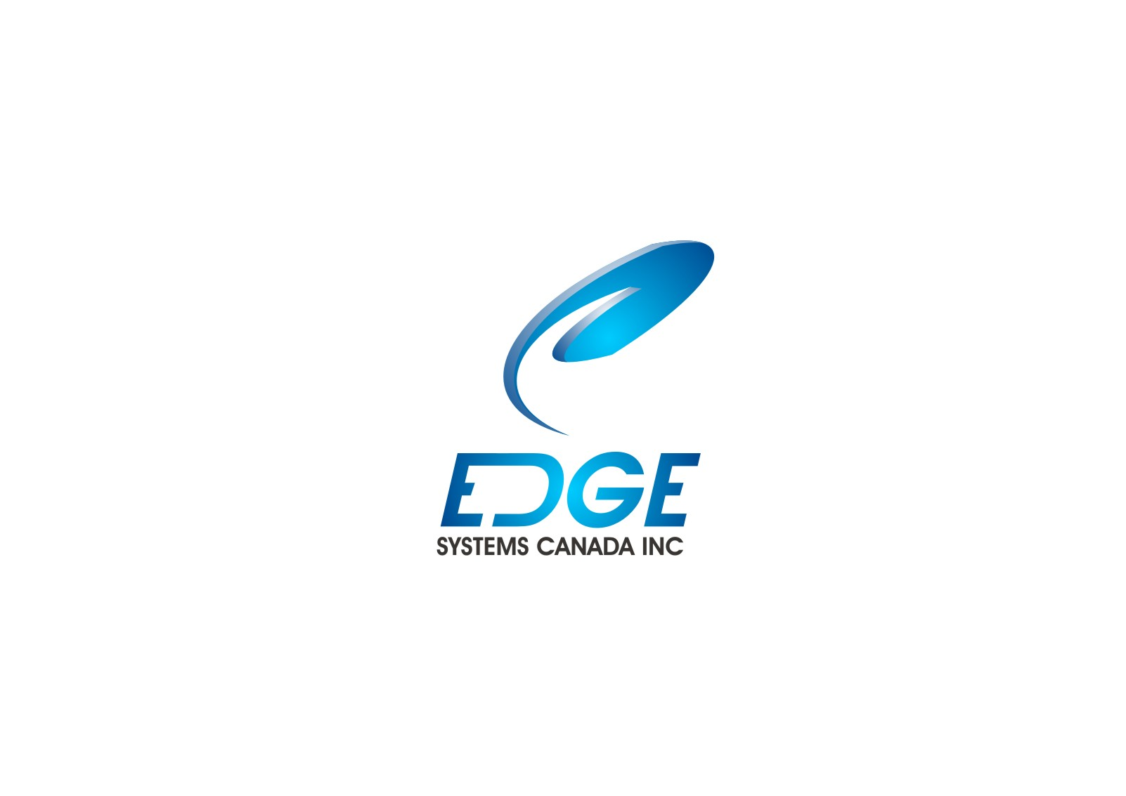 Logo Design by yanxsant - Entry No. 1 in the Logo Design Contest New Logo Design for Edge Systems Canada Inc.
