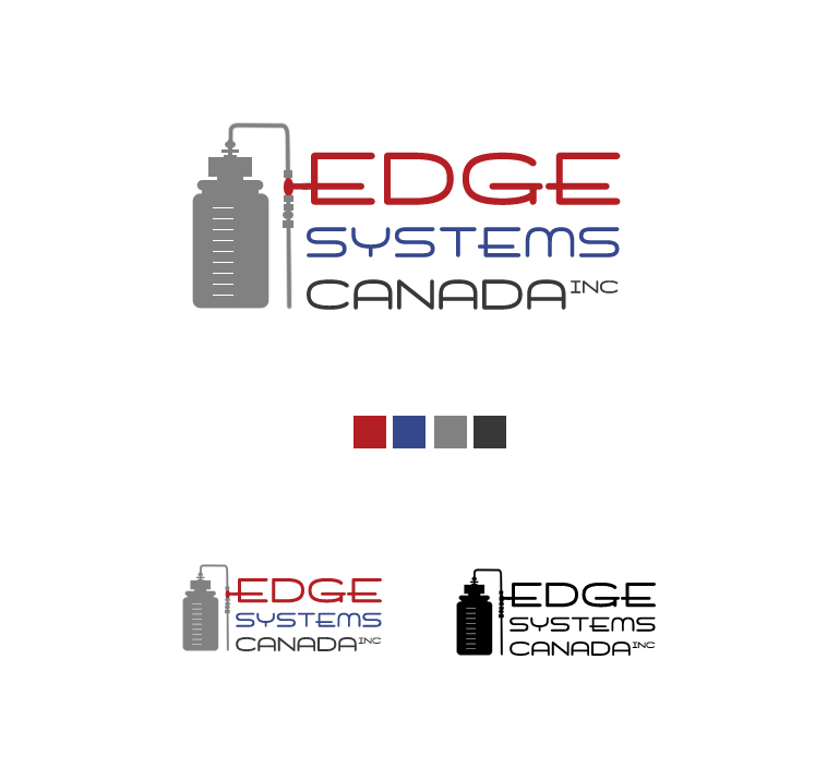 Logo Design by elmd - Entry No. 2 in the Logo Design Contest New Logo Design for Edge Systems Canada Inc.