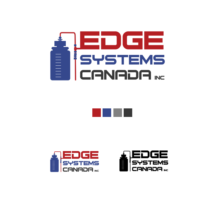 Logo Design by elmd - Entry No. 3 in the Logo Design Contest New Logo Design for Edge Systems Canada Inc.