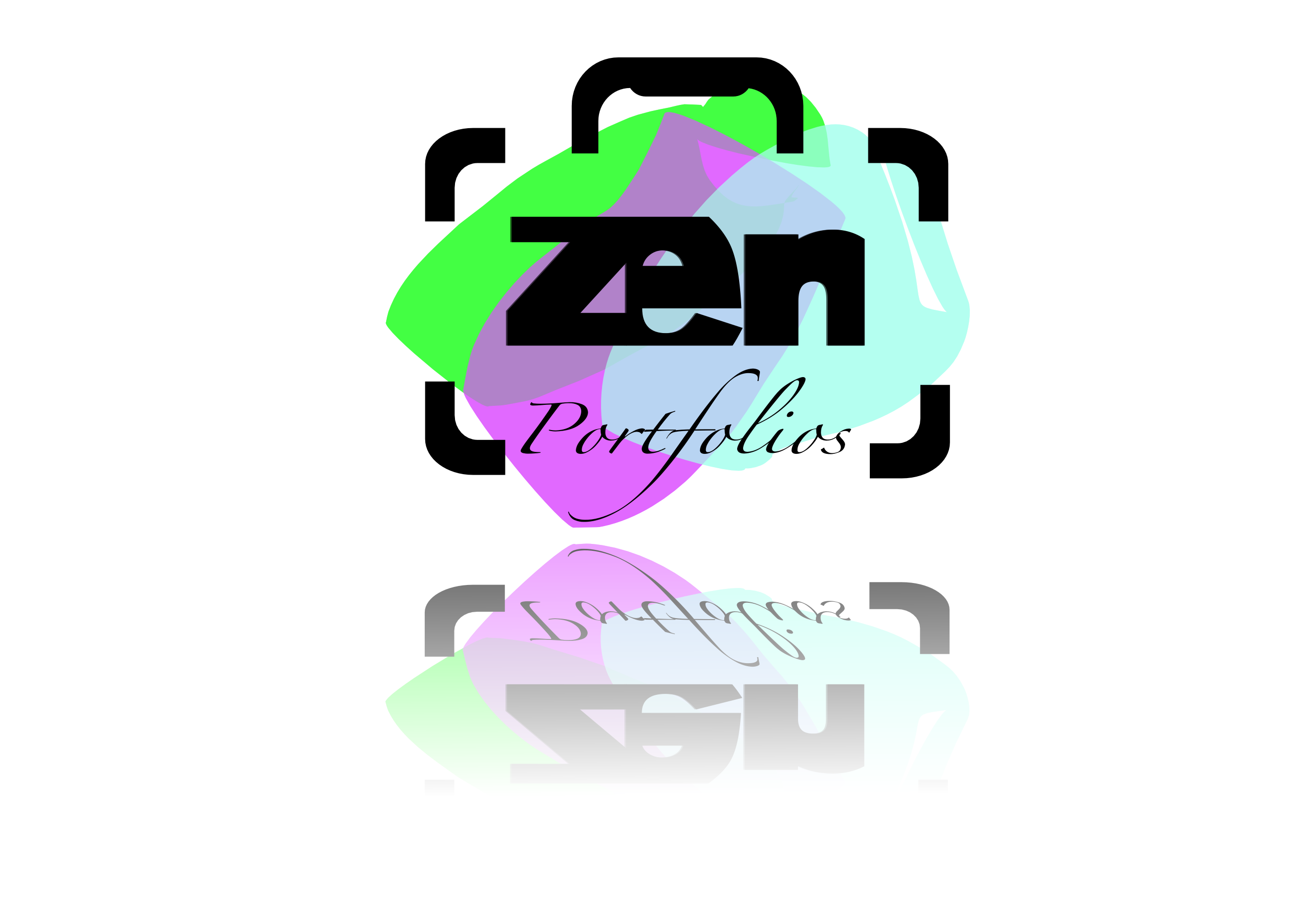 Logo Design by whoosef - Entry No. 97 in the Logo Design Contest New Logo Design for ZEN Portfolios.