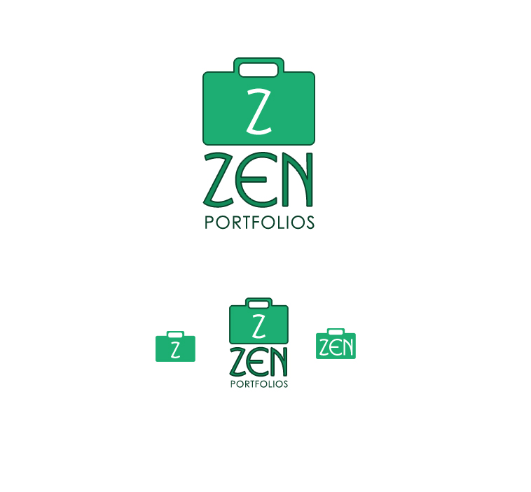 Logo Design by elmd - Entry No. 98 in the Logo Design Contest New Logo Design for ZEN Portfolios.