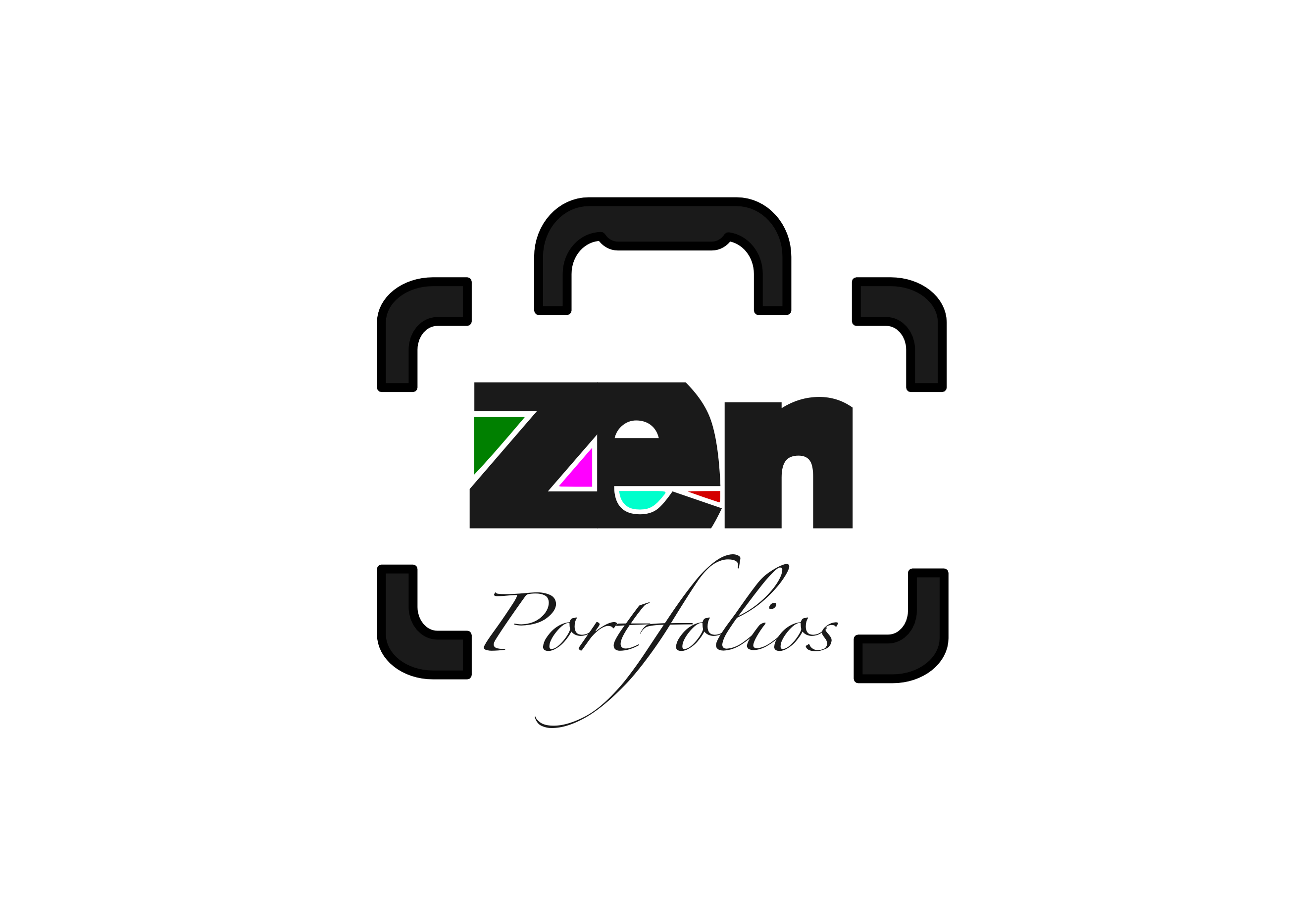 Logo Design by whoosef - Entry No. 100 in the Logo Design Contest New Logo Design for ZEN Portfolios.