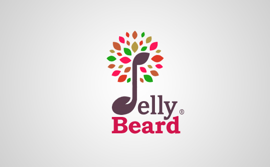 Logo Design by Satpal Jangir - Entry No. 32 in the Logo Design Contest jellybeard Logo Design.