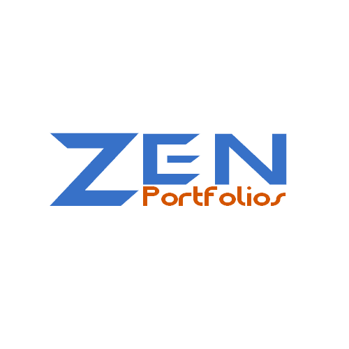 Logo Design by Ben ali Fethi - Entry No. 103 in the Logo Design Contest New Logo Design for ZEN Portfolios.