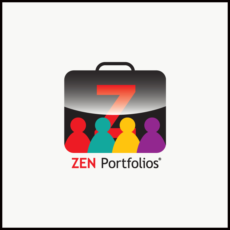 Logo Design by Number-Eight-Design - Entry No. 104 in the Logo Design Contest New Logo Design for ZEN Portfolios.