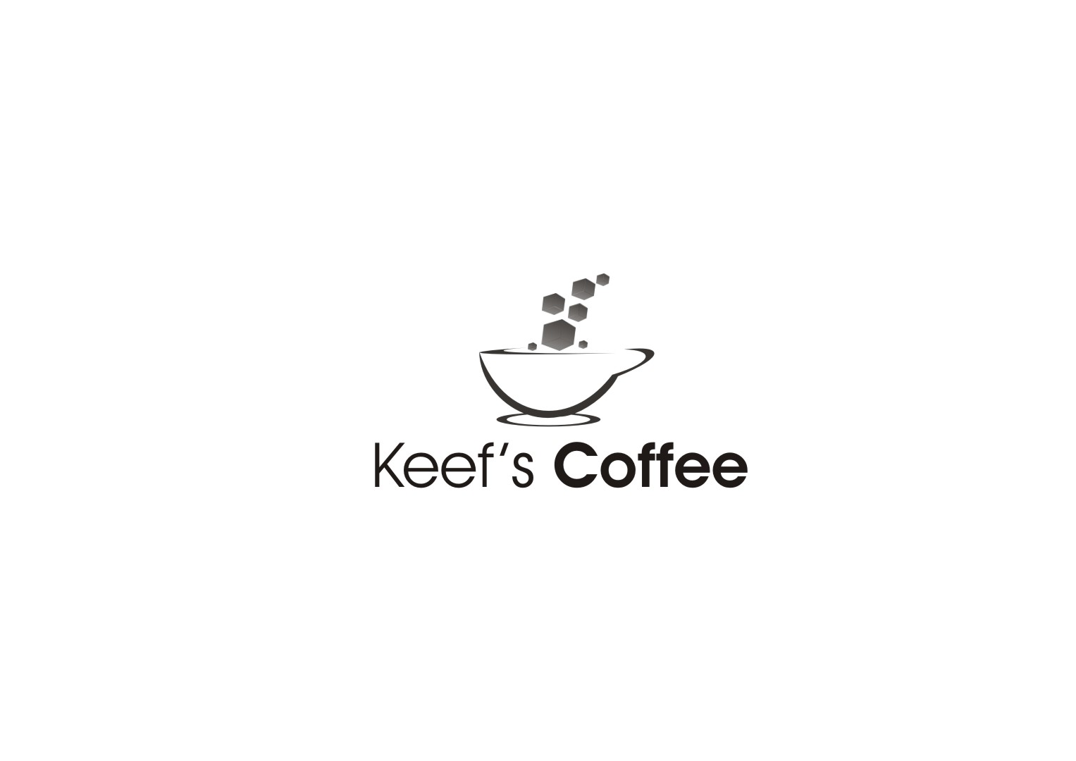 Logo Design by yanxsant - Entry No. 1 in the Logo Design Contest Keef's coffee Logo Design.