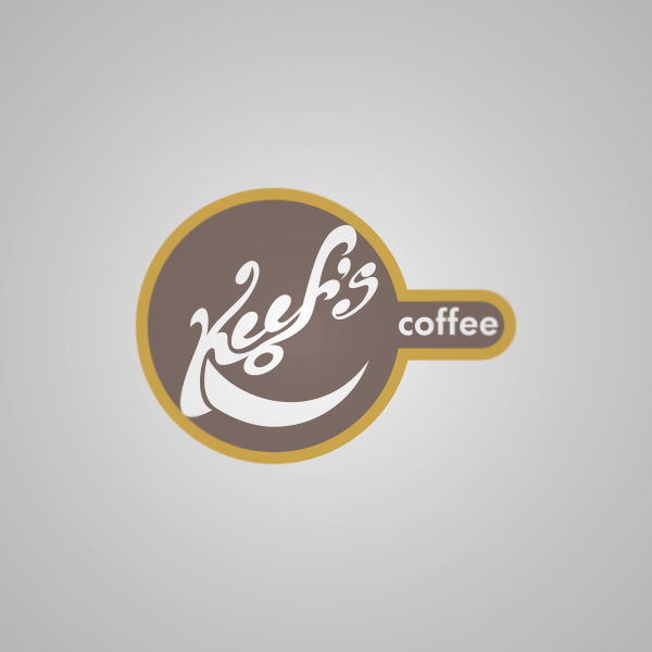 Logo Design by Private User - Entry No. 3 in the Logo Design Contest Keef's coffee Logo Design.