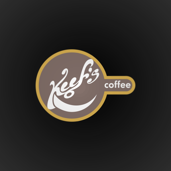 Logo Design by Private User - Entry No. 4 in the Logo Design Contest Keef's coffee Logo Design.