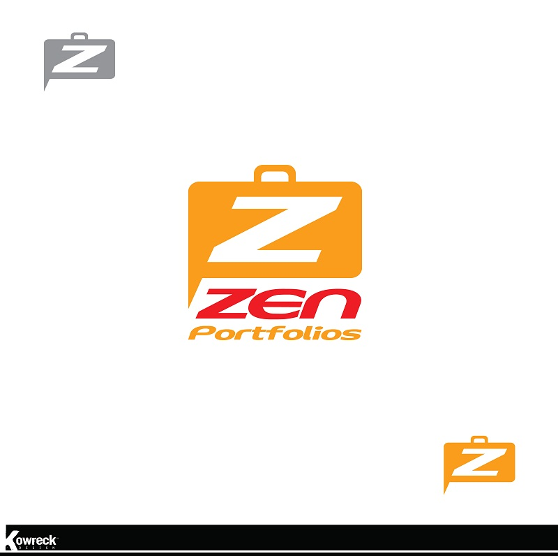 Logo Design by kowreck - Entry No. 112 in the Logo Design Contest New Logo Design for ZEN Portfolios.