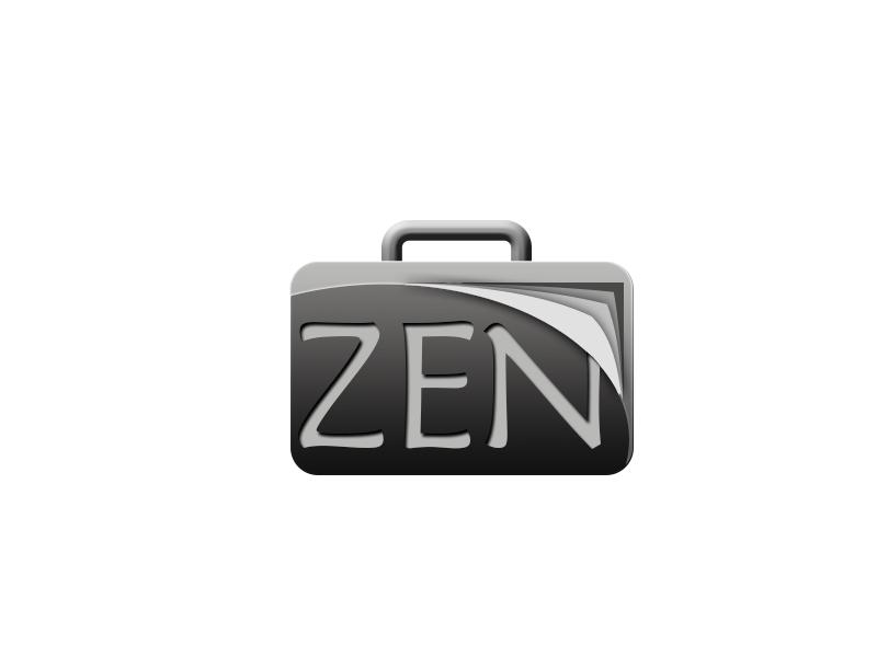 Logo Design by Mythos Designs - Entry No. 114 in the Logo Design Contest New Logo Design for ZEN Portfolios.