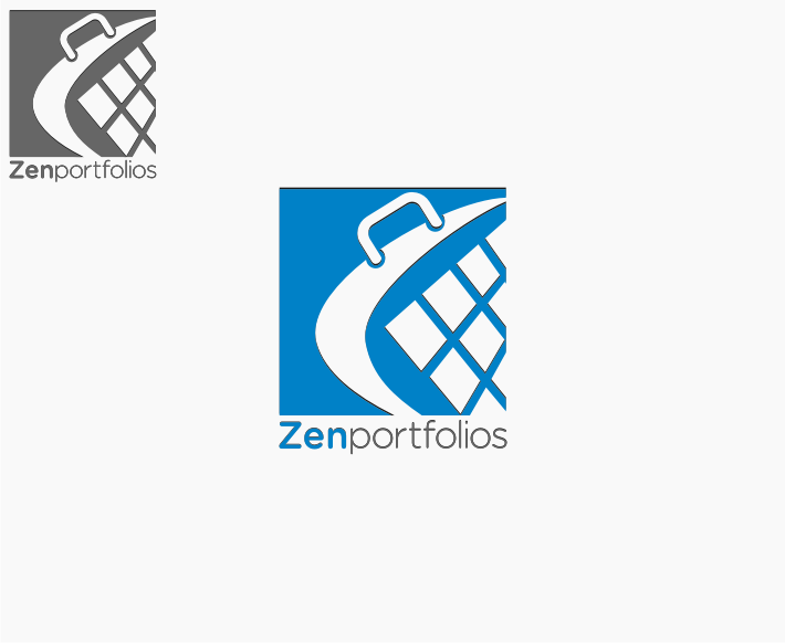 Logo Design by graphicleaf - Entry No. 115 in the Logo Design Contest New Logo Design for ZEN Portfolios.