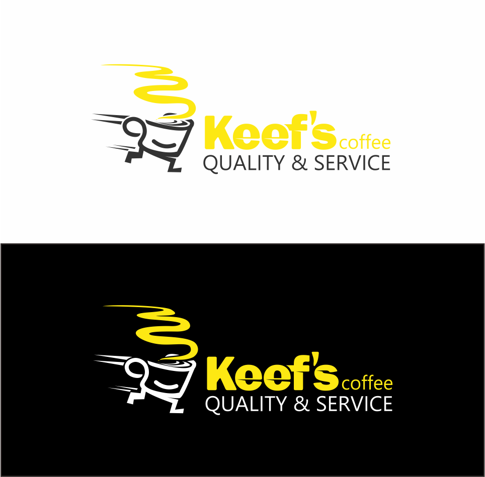 Logo Design by Mitchnick Sunardi - Entry No. 6 in the Logo Design Contest Keef's coffee Logo Design.