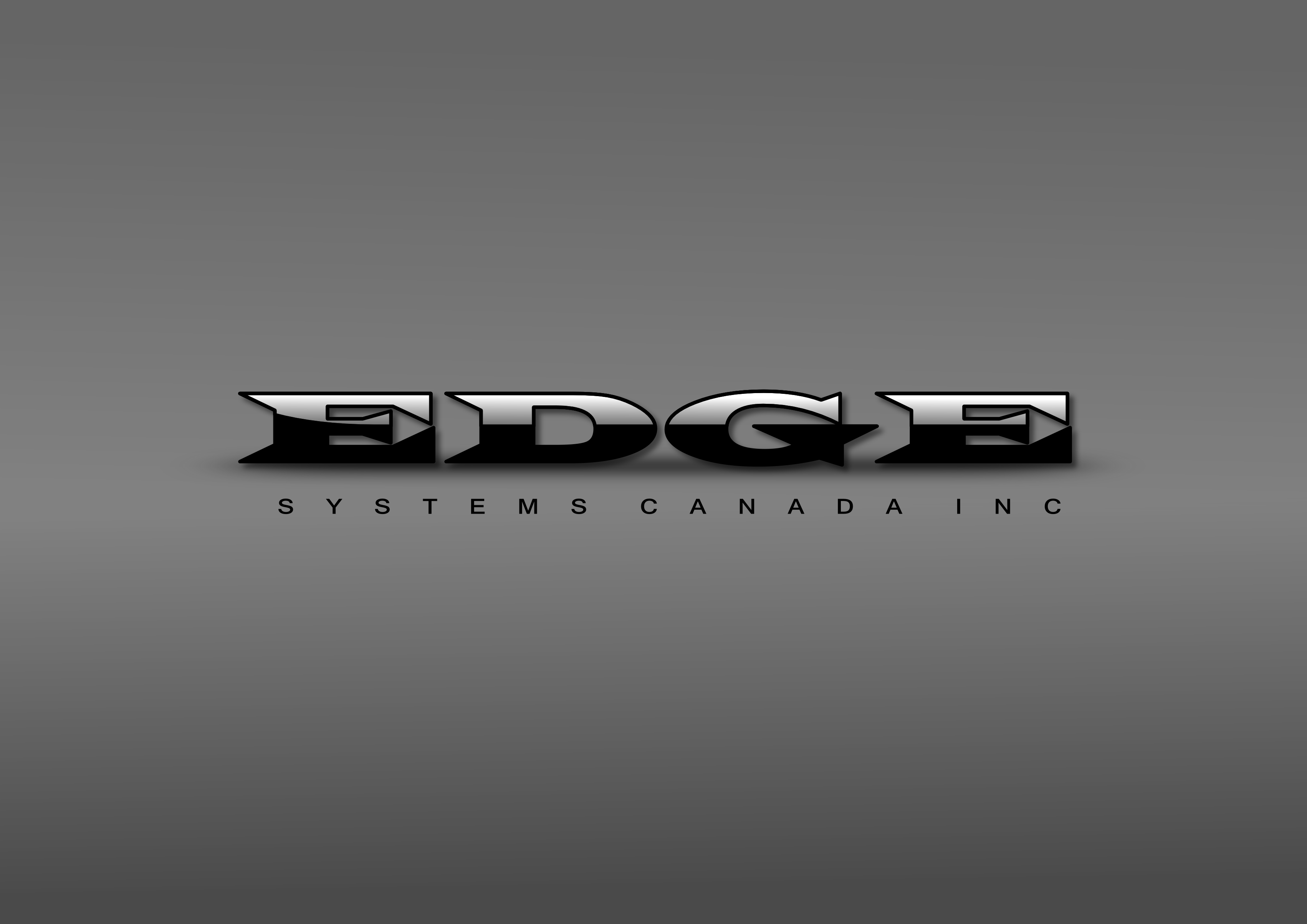 Logo Design by whoosef - Entry No. 12 in the Logo Design Contest New Logo Design for Edge Systems Canada Inc.