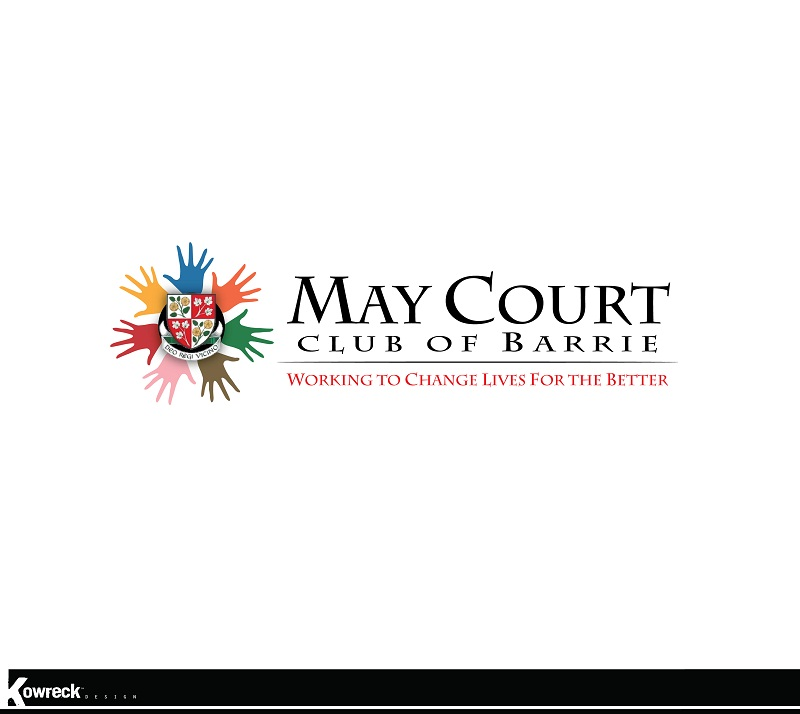 Logo Design by kowreck - Entry No. 97 in the Logo Design Contest New Logo Design for MAY COURT CLUB OF BARRIE.
