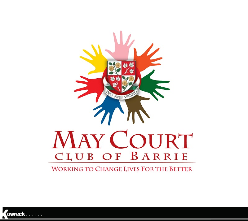 Logo Design by kowreck - Entry No. 99 in the Logo Design Contest New Logo Design for MAY COURT CLUB OF BARRIE.
