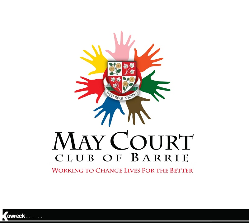 Logo Design by kowreck - Entry No. 100 in the Logo Design Contest New Logo Design for MAY COURT CLUB OF BARRIE.