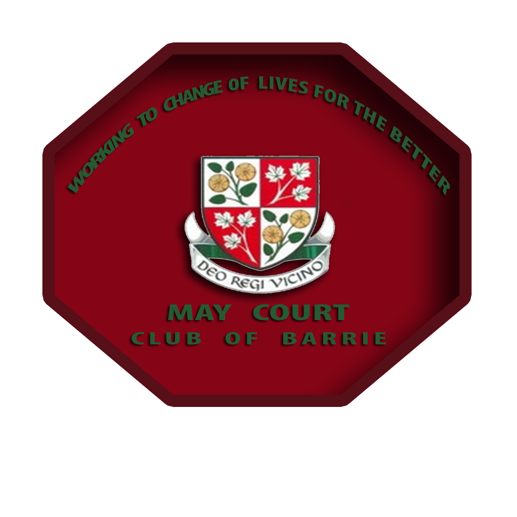 Logo Design by Talvinder Singh - Entry No. 103 in the Logo Design Contest New Logo Design for MAY COURT CLUB OF BARRIE.