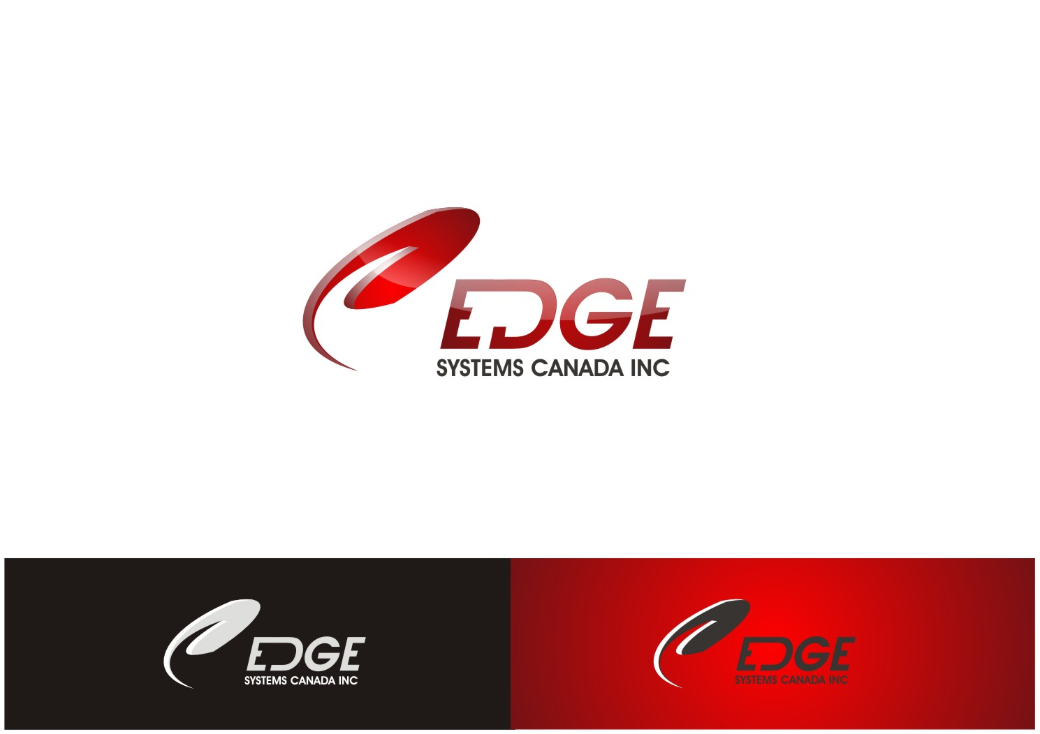 Logo Design by yanxsant - Entry No. 15 in the Logo Design Contest New Logo Design for Edge Systems Canada Inc.