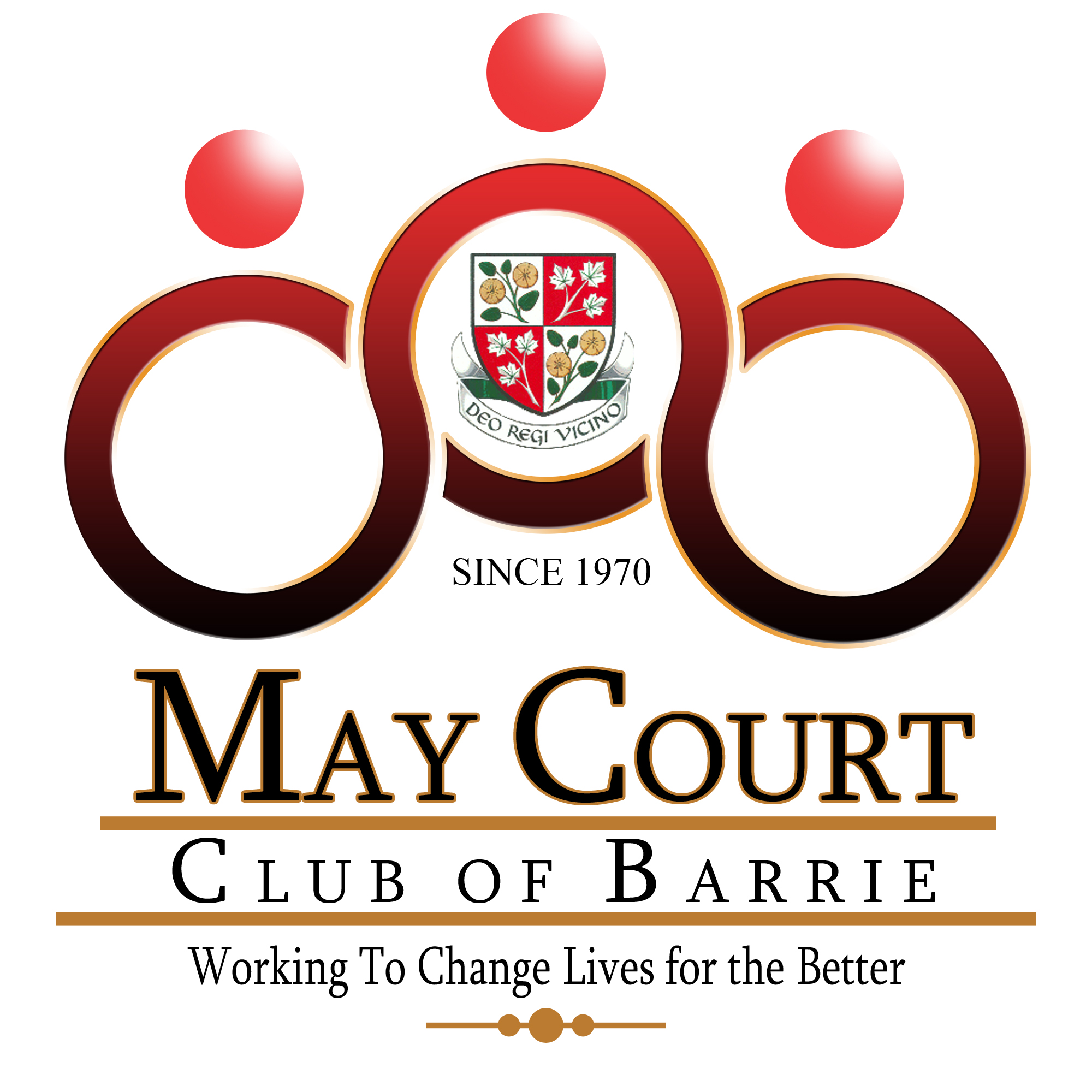 Logo Design by Ervin Beñez - Entry No. 104 in the Logo Design Contest New Logo Design for MAY COURT CLUB OF BARRIE.