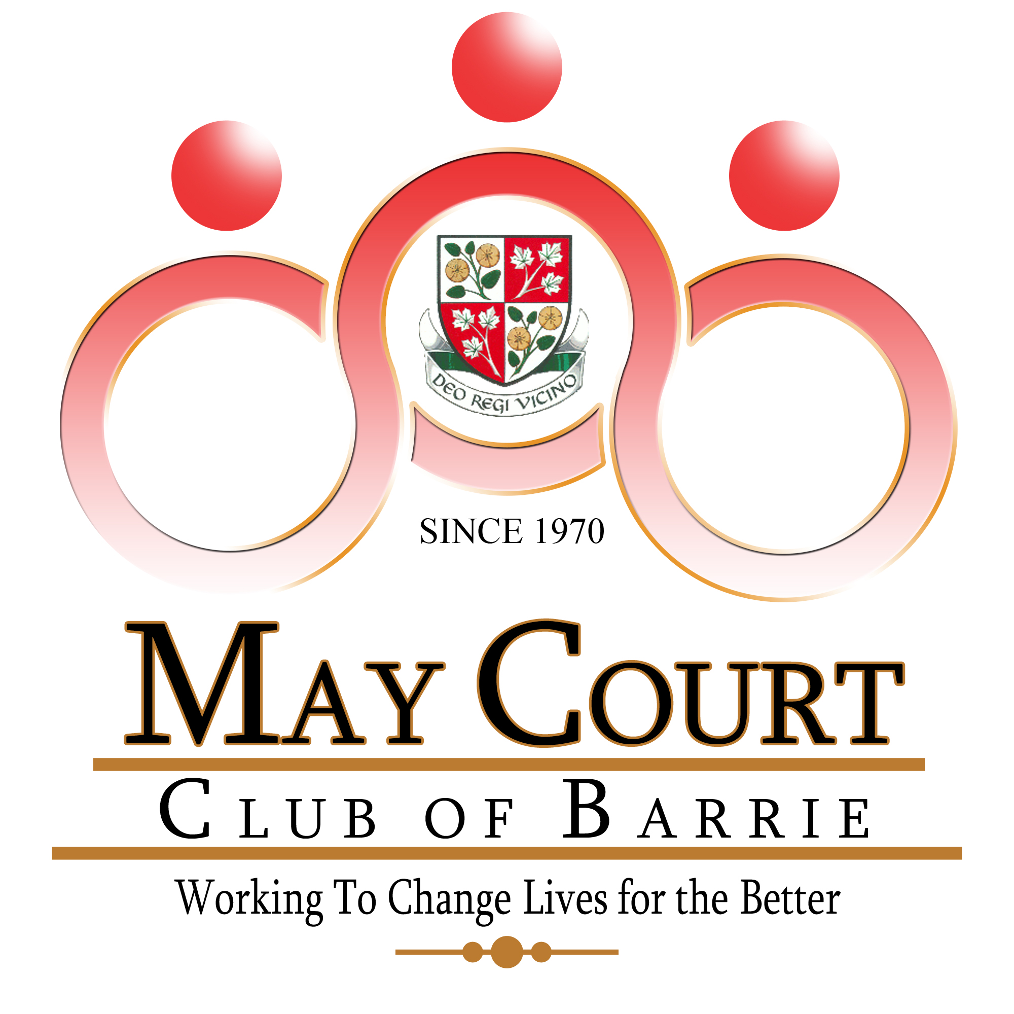 Logo Design by Ervin Beñez - Entry No. 105 in the Logo Design Contest New Logo Design for MAY COURT CLUB OF BARRIE.