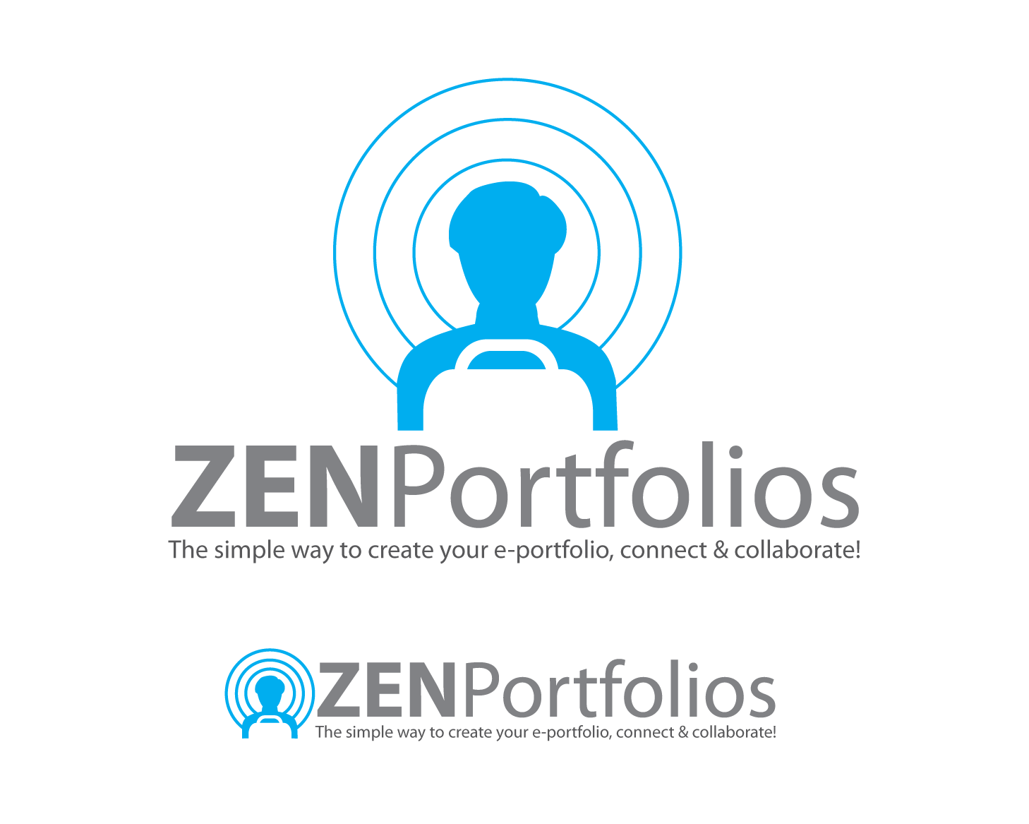 Logo Design by Roy Ferre - Entry No. 122 in the Logo Design Contest New Logo Design for ZEN Portfolios.