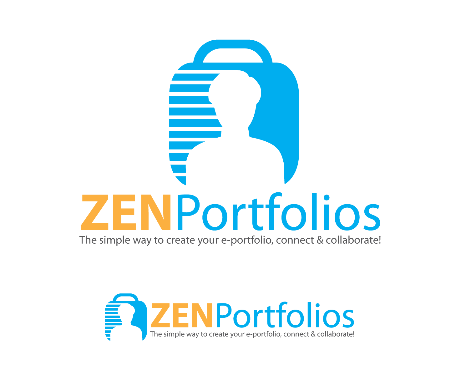 Logo Design by Roy Ferre - Entry No. 123 in the Logo Design Contest New Logo Design for ZEN Portfolios.